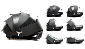 chambre à air vélo cyclus pangolin sac à dos en chambre à air vélo et design