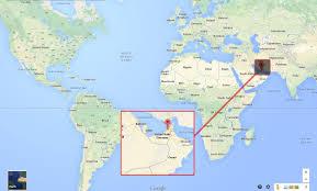 Bay Of Bengal Map Dubai Auf Der Karte Dubai Map Vereinigte Arabische Emirate