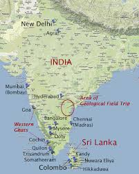 Map Of India by Map Of India And Sri Lanka Showing Localities That We Visi U2026 Flickr