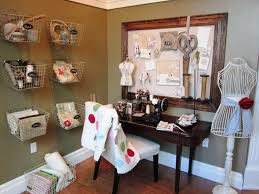 Sewing Room Wall Decor Organized Sewing Room Designs Room Furniture Ideas
