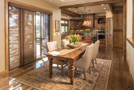 rustic dining room room design ideas