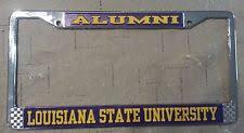lsu alumni sticker lsu tigers college ncaa ebay