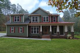 craftsman home design chapel hill homes stanton homes tucked into a wooded lot with plenty of space to spread out and enjoy the outdoors this version of le chalet vert is a craftsman style custom home designed