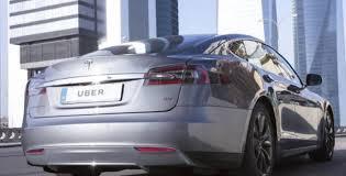 uber estrena en madrid su servicio con coches eléctricos de lujo
