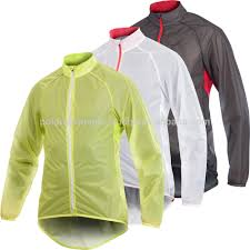 orange cycling jacket bike light weight raining jacket lightweight cycling rain jacket