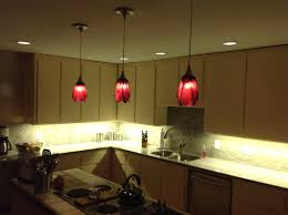 kitchen hanging lights red kitchen pendant lights with u shape lighting over island and 4