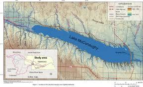 Nebraska State Map Nebraska U0027s Water Resources