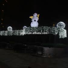 Lighted Snowman Outdoor Christmas Decorations by 2015 Wholesale Funny Lighted Snowman Outdoor Christmas Decoration