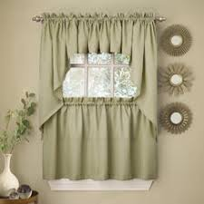 36 Kitchen Curtains by Lorraine Home Fashions Tier Curtains Sears