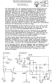 nordmende am fm stereo tannhauser receiver sch service manual