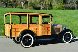 green station wagon with wood paneling 1929 ford model a for sale 2029298 hemmings motor news