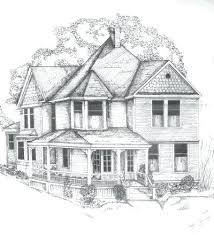 drawing houses drawings houses simple pencil drawings of houses l house design