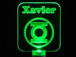 green lantern neon light ideas for a comic book themed nursery green lantern night light idolza