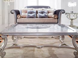glass and silver coffee table unique coffee tables silver