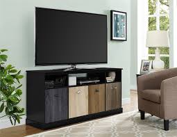 Tv Tables At Walmart Ameriwood Furniture Mercer Tv Console With Multicolored Door