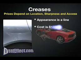 Dent Repair Estimate by Dent Effect How Much Is Cost Paintless Dent Repair Pdr Door