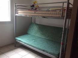 lit mezzanine canape lit mezzanine canape annonce meubles et décoration la réunion
