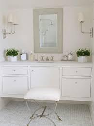 White Bathroom Vanity Cabinet White Floating Bath Vanity With Gray Mirror Traditional Bathroom