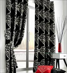 White Curtains With Blue Trim Decorating Elegant Black And Blue Curtains Decorating With White Curtains
