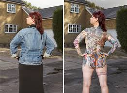 photographer strips tattooed to what s below