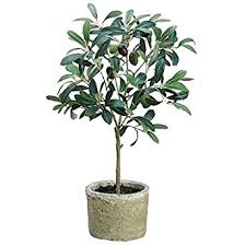 artificial olive tree in pot 19 1 5 h industrial