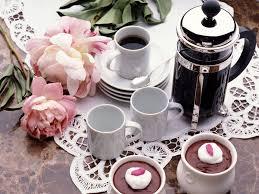 wallpaper tea cake coffee breakfast hd picture image