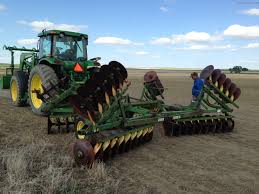 john deere dh5413 rigid single offset disk with 24 blades john