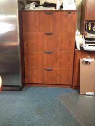 cherry laminate lateral files