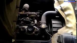 mitsubishi 4d34 naturally aspirated engine view youtube