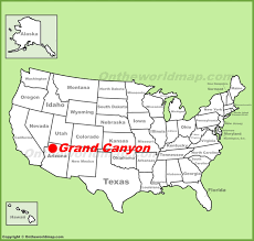 Glacier Park Map Grand Canyon Maps Usa Maps Of Grand Canyon National Park