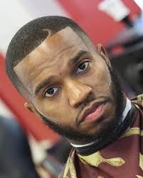 todays men black men hair cuts style hook part haircut beard line black men haircuts pinterest