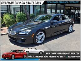 used bmw 650i coupe 2017 bmw 650i gran coupe sedan for sale stock 170014 chapman