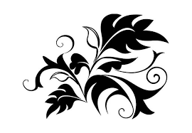 fern abstract wall decal great floral decor ornament