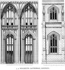 medieval winchester cathedral plans and drawings screen sized image