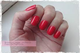 impress press on manicure nails my style pinterest