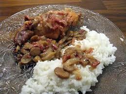 cuisiner du lapin facile recette de lapin aux chignons et petits lardons ou la recette de