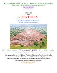Nau Campus Map Nau Events La Tertulia Spanish Table