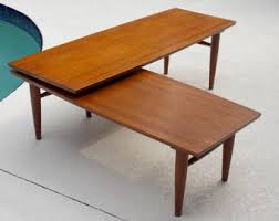 L Shaped Coffee Table Simply Gorgeous By Midcenturyfla On Etsy
