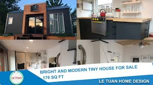 Tiny Home Design by Le Tuan Home Design Bright And Modern Tiny House For Sale 175