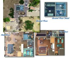 mod the sims coral reef bdr bath beach house on stilts with