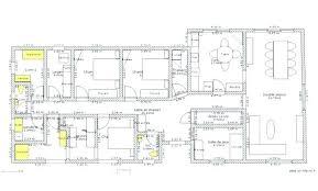 plan de maison 5 chambres plans maisons plain pied s plan maison chambres m plan de la