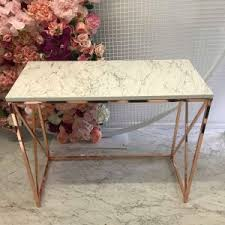 rose gold console table console tables product categories elegant tea time