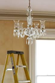 How To Make A Fake Chandelier How To Clean A Chandelier Apartment Therapy