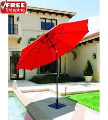 Tilting Patio Umbrella Best Selection Tilt Patio Umbrellas Galtech 9 Ft Manual Tilt