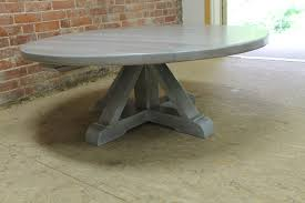 Whitewash Coffee Table Round White Washed Coffee Table With Pedestal Ecustomfinishes
