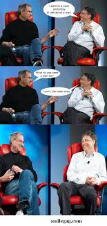 Bill Gates Meme - 7 best bill gates and steve jobs memes