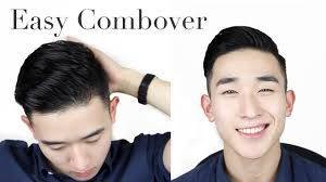 curly hair combover 2015 men s easy combover hair 2015 ivan lam youtube