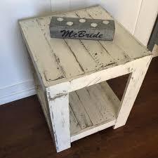 Pallet Furniture Side Table Rustic Pallet Side Table U2022 1001 Pallets