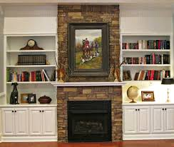 home decor awesome how to paint a stone fireplace design ideas