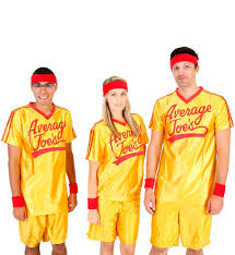 Starsky And Hutch Costume Dodgeball Average Joe U0027s Costume Jersey Set Dodgeball Costume